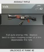Volk Unlock Card IW