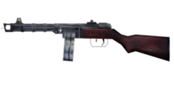 CoD1 Weapon PPSh