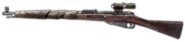 Scoped Mosin-Nagant Side FH