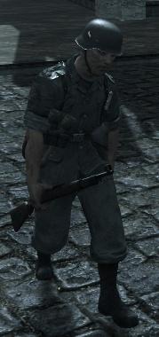 Немецкий солдат 1 (Вендетта)