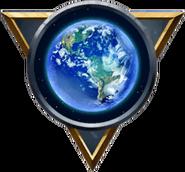 Blue Ball Emblem MWR
