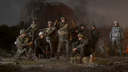Call of Duty WWII во время перерыва (without HUD)