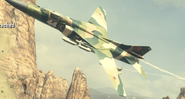 MiG-23 flying low Old Wounds BOII