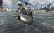 U.S. Navy SEALs piloting the UH-60 Over Reactor MW3