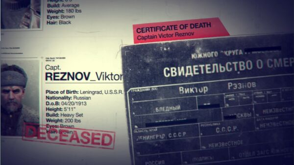 Reznov death certificate