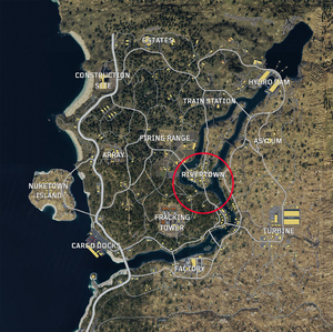 Rivertown Blackout Map BO4