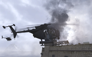 Side view Hornet Two Two Gulag MW2