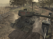 T-34 Front view WAW