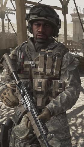 Сержант Фоули в MW2R