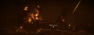 Nikolai's chopper crash site Return to Sender MW3