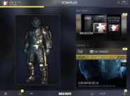 COD AW (app) Home - Full View