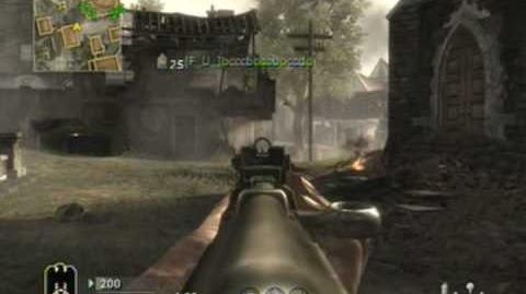 Call of Duty WaW Team Deathmatch TDM Outskirts