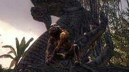 Monkey Zombie Pedestal