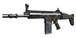 SCAR-H Menu Icon BOII