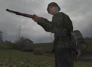 Немец с винтовкой