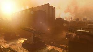 Arsenal Sandstorm MenuScreen BO4