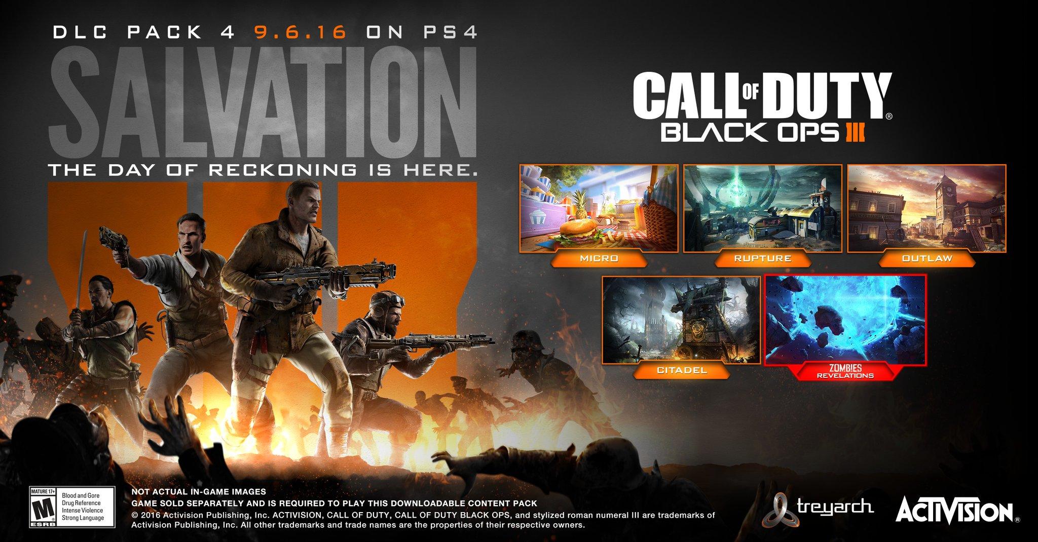 Salvation Call Of Duty Wiki Fandom