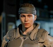 Female Face 1 with prototype outfit BO3