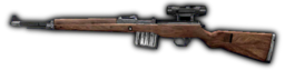 Gewehr 43 Sniper Scope Side FH