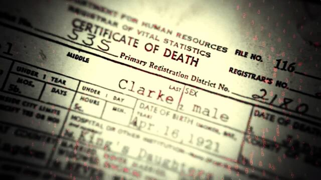 File:Clarke's Certificate of Death.jpg