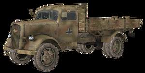 Opel Blitz model WaW