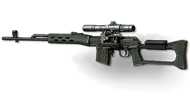 Weapon dragunov