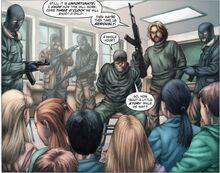 Ghost komiks AK-47