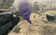 Air Support Marker smoke Dome MW3