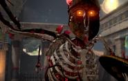 Ancient Evil Skeleton Spartan Bo4