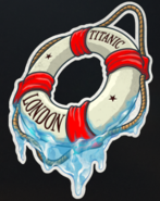 Gauntlet Unsinkable Sticker BO4