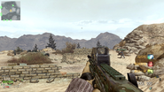 L86 LSW gameplay Desert Border CODOL