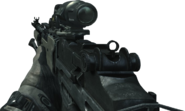 MK14 Hybrid Sight On MW3