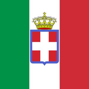 Royal italian army flag
