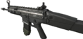 SCAR-L 3rd person MW3