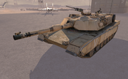 M1A2 Abrams side view S.S.D.D. MW2