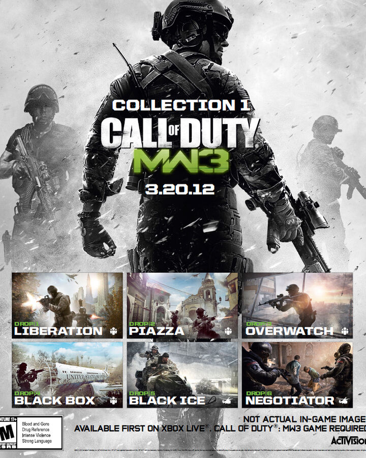 Content Collection 1 Call Of Duty Wiki Fandom