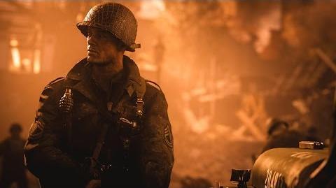 Call of Duty® WWII – первый трейлер RU