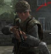 German soldier Normandy 3 CoD2