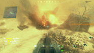 I.E.D. Explosion BOII