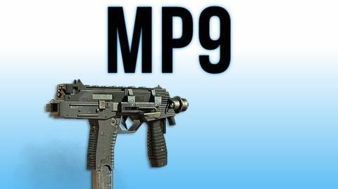 MW3 In Depth - MP9 Machine Pistol