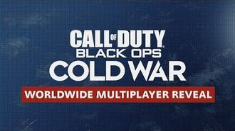 Call of Duty® Black Ops Cold War Multiplayer Reveal