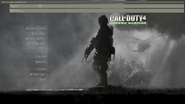 Developer console open CoD4