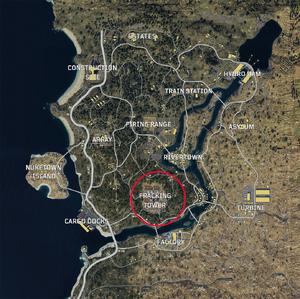 Fracking Tower Blackout Map BO4