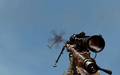 MH-6 delivering care package MW2