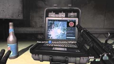 MW3 - Intel Locations - Stronghold - Mission 13 - Scout Leader Achievement Trophy guide