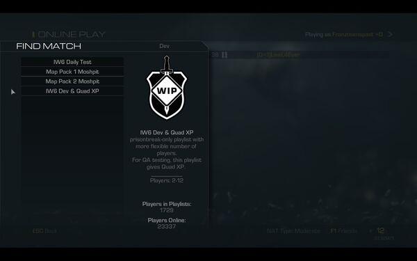 Personal LawL4Ever CoD Ghosts Dev Playlists