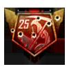 25 Streak Medal BOII