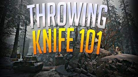 Call Of Duty World War 2 Throwing Knife 101