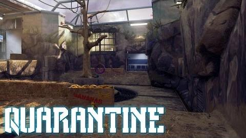 CoD AW - Team Deathmatch on Quarantine Reckoning DLC Gameplay (PS4)
