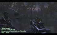 Spawn point Blackout CoD4